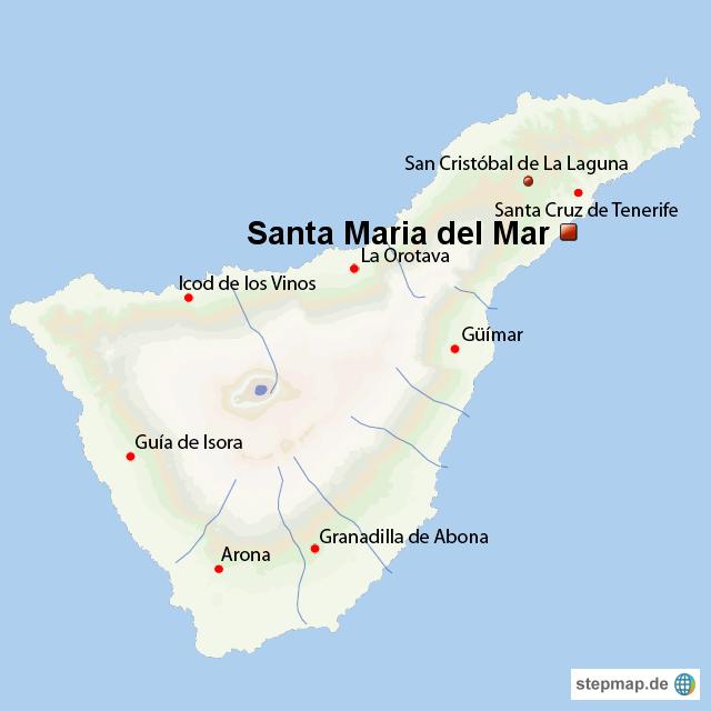 Teneriffa Karte Europa.Stepmap Santa Maria Del Mar Auf Teneriffa Gay Tenerife