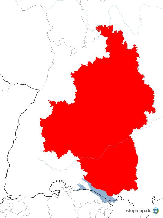 Schwaben Karte.Stepmap Schwaben Landkarte Für Deutschland
