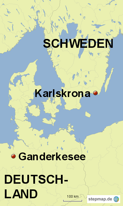 Schweden Karte Deutsch.Stepmap Schweden Landkarte Fur Deutschland