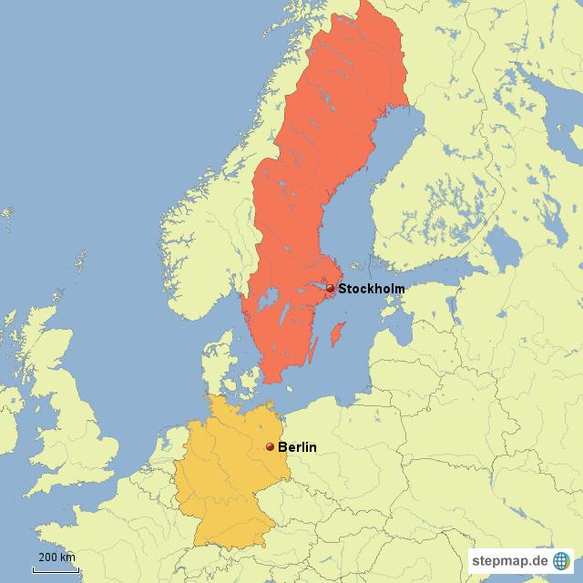 Schweden Deutschland