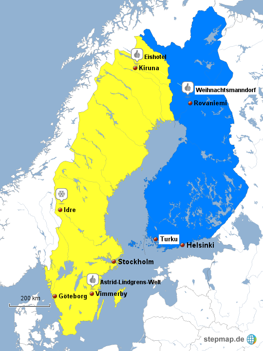 Schweden Finnland