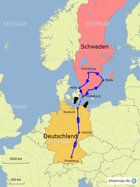karte deutschland schweden StepMap   Schweden Gesamt   Landkarte für Deutschland