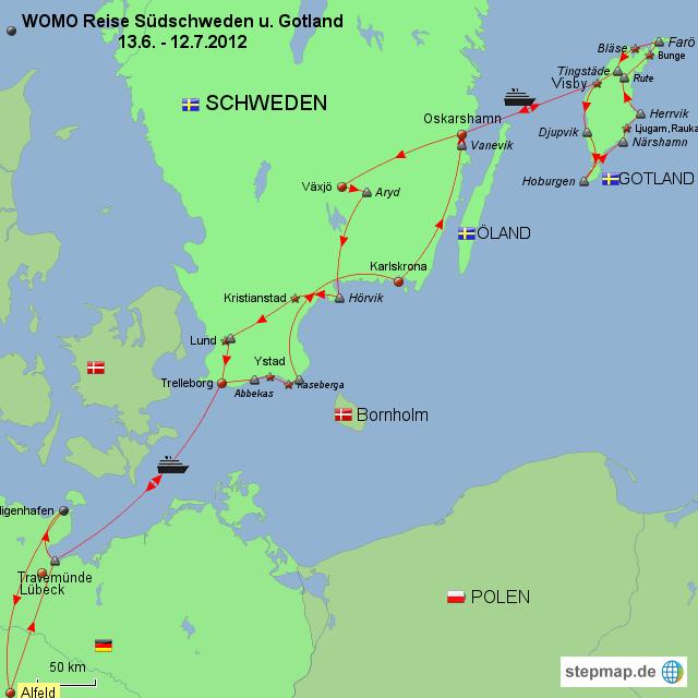 gotland karte StepMap   Schweden und Gotland   Landkarte für Schweden