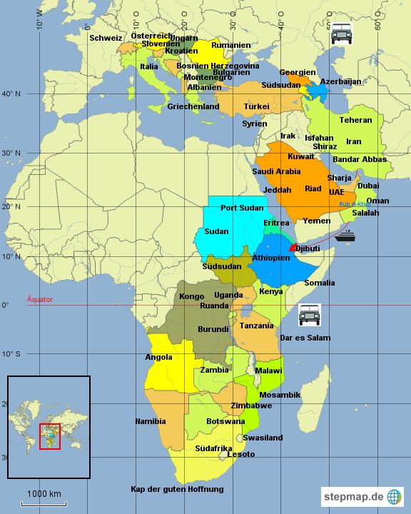 kap der guten hoffnung karte StepMap   Schweiz   Kap der guten Hoffnung   Landkarte für Afrika