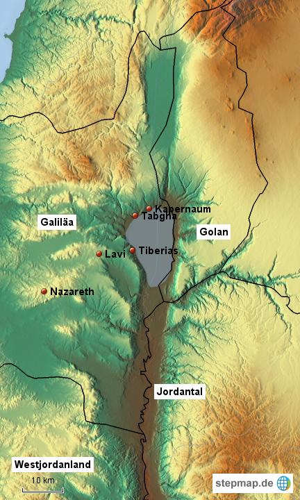 see genezareth karte StepMap   See Genezareth   Landkarte für Israel