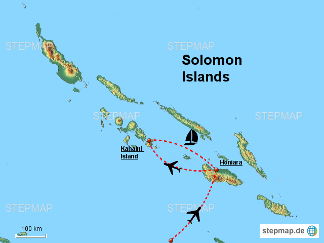 Landkarte:  Solomon Islands 01