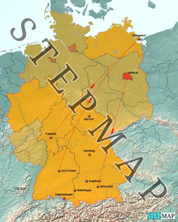 Innerdeutsche Reisen