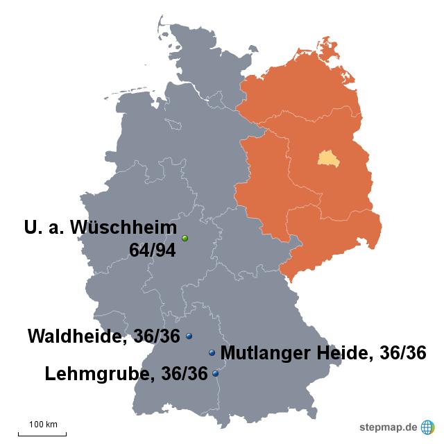 Kalter Krieg Karte.Stepmap Stationierung Von Mittelstreckenraketen In Deutschland