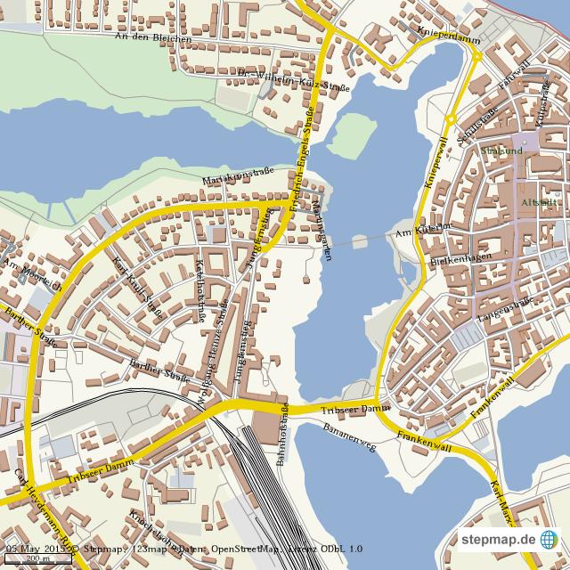Stralsund Karte.Stepmap Stralsund Stadtplan Landkarte Für Welt