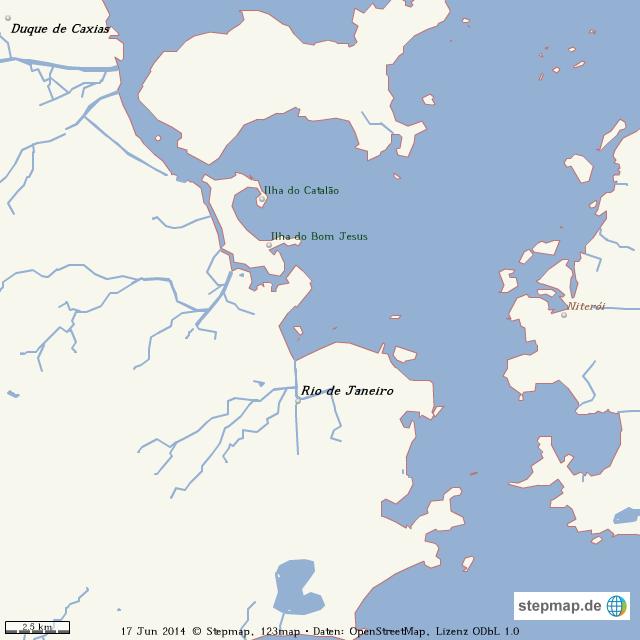 Rio De Janeiro Karte.Stepmap Stumme Karte Rio De Janeiro Landkarte Fur Welt