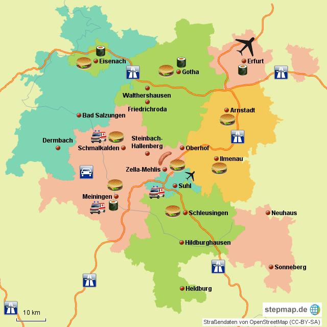 Süd Thüringen