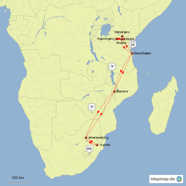 Stepmap Tansania Kilimanjaro 1979 Landkarte Fur Afrika