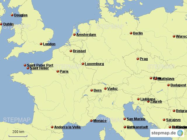 Deutschland Frankreich Karte.Stepmap Test Deutschland Frankreich Landkarte Für Deutschland