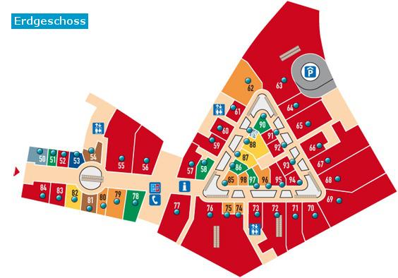 Stepmap Thier Galerie Dortmund Erdgeschoss Landkarte Fur Deutschland