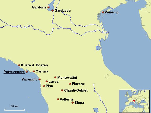Karte Toskana Küste.Stepmap Toskana 2016 Landkarte Für Italien