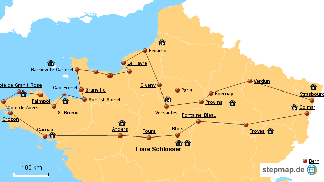 Nordfrankreich Karte.Nordfrankreich Karte Karte