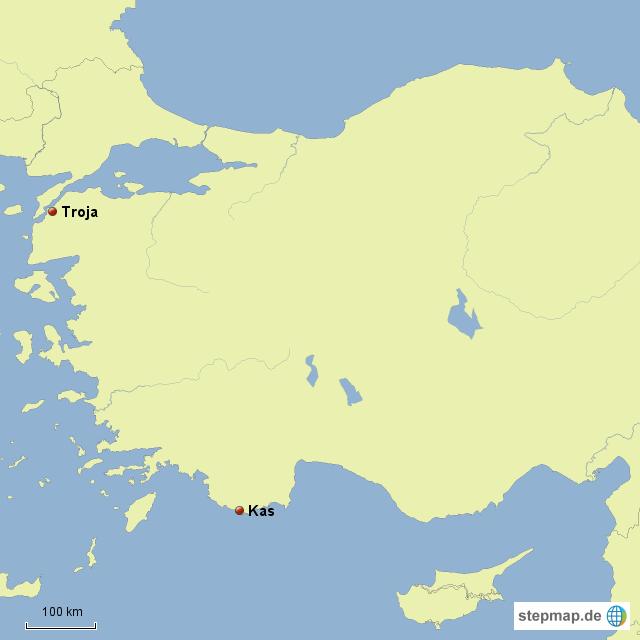 Türkische ägäis Karte.Stepmap Türkische ägäis Landkarte Für Deutschland