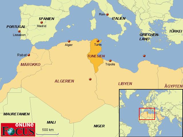Tunesien Karte.Stepmap Tunesien Krise In Der Arabischen Elt Landkarte