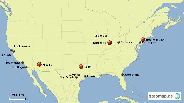 Größte Städte Der Usa