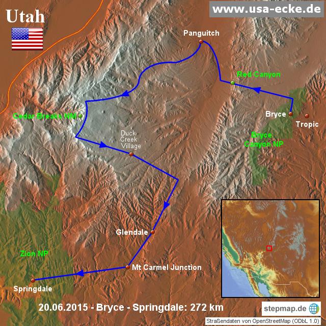 StepMap - USA 2015 Map 9 - Landkarte für Nordamerika