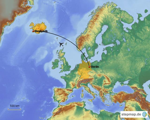 Island Deutschland