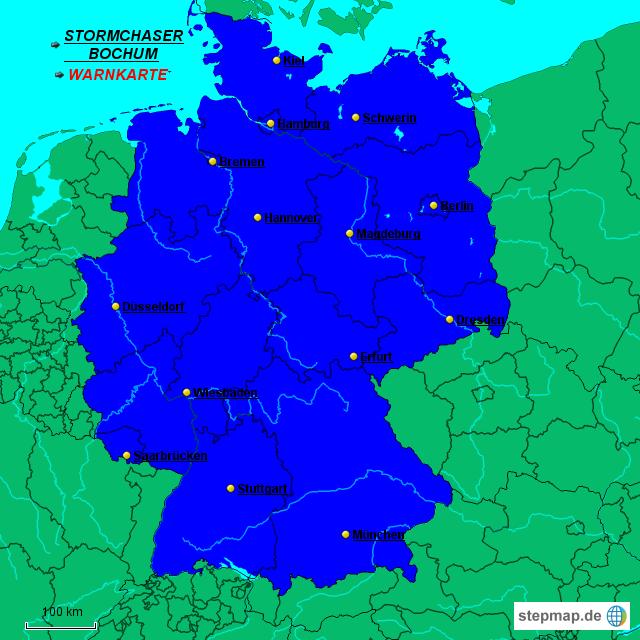 Unwetterwarnungen Deutschland
