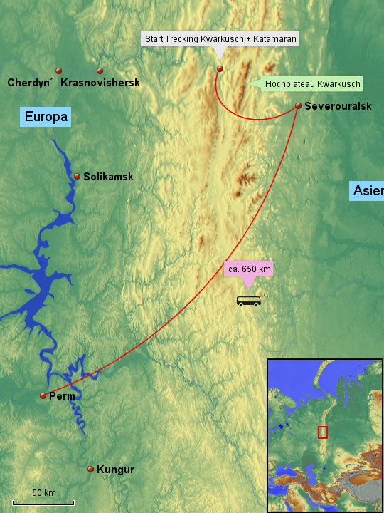Uralgebirge Karte.Stepmap Ural Karte Landkarte Fur Russland