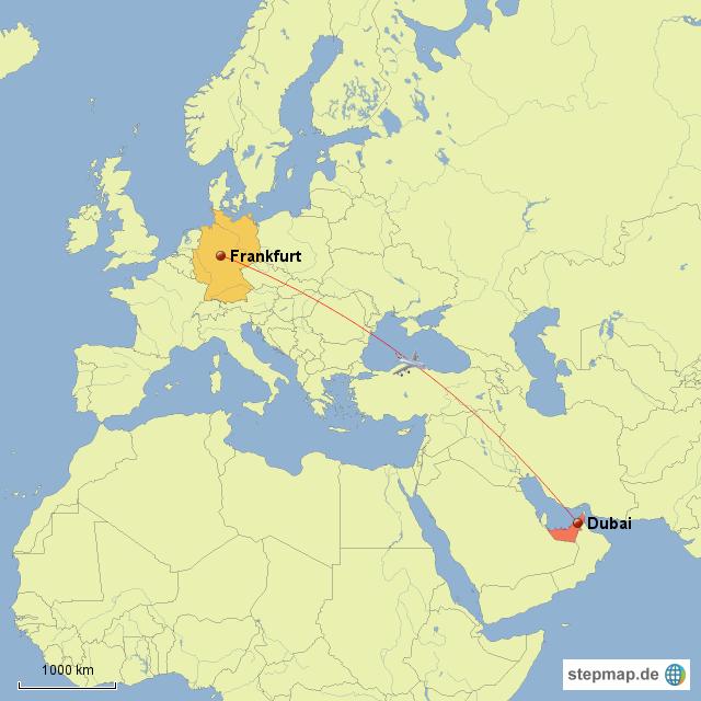 dubai karte StepMap   Urlaub in Dubai Karte   Landkarte für Deutschland