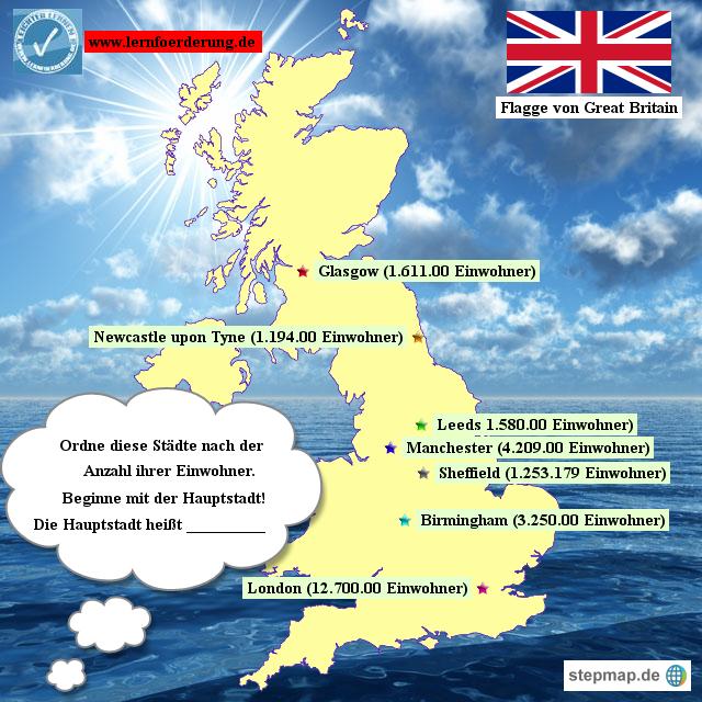 großstädte großbritannien