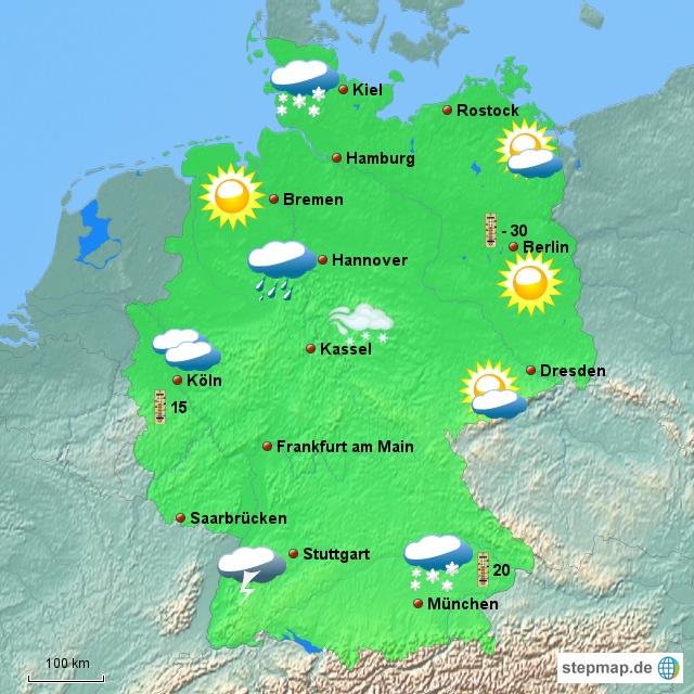 Wie Wird Das Wetter Morgen In Rheine