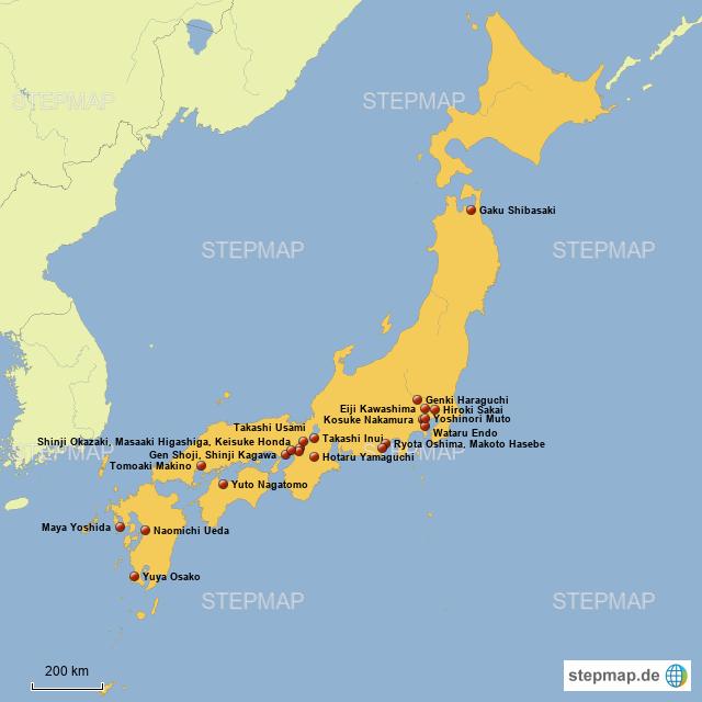 Kader Japan Wm 2021