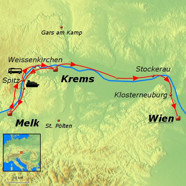 Wachau Karte.Stepmap Wachau Wien Landkarte Für Deutschland