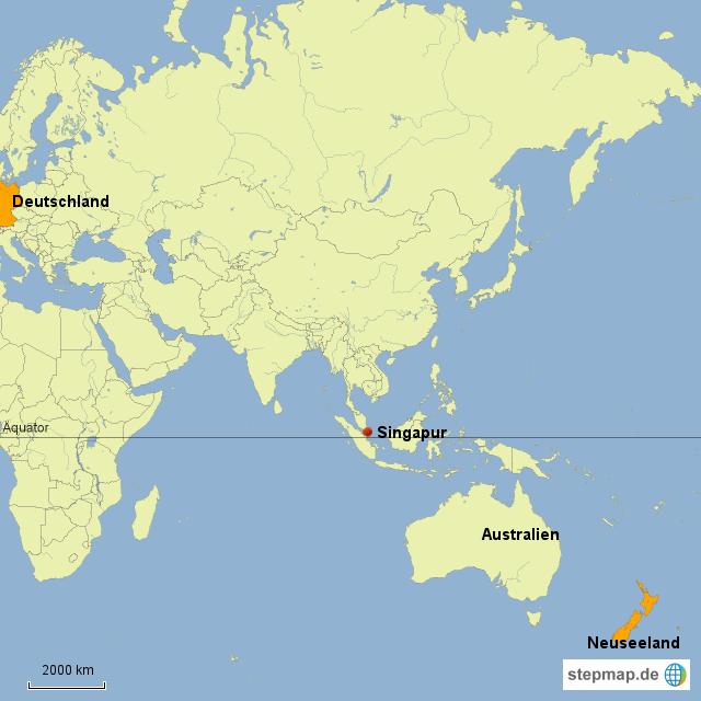 neuseeland weltkarte StepMap   Weltkarte Neuseeland   Landkarte für Deutschland neuseeland weltkarte