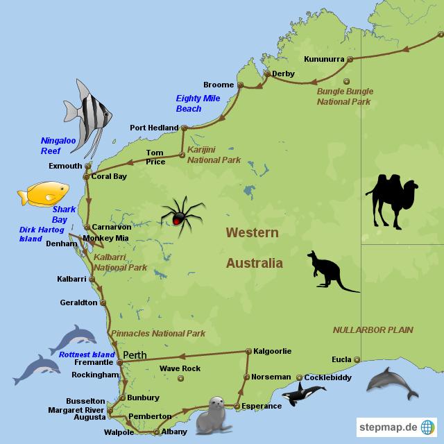 Travel West Coast Australia
