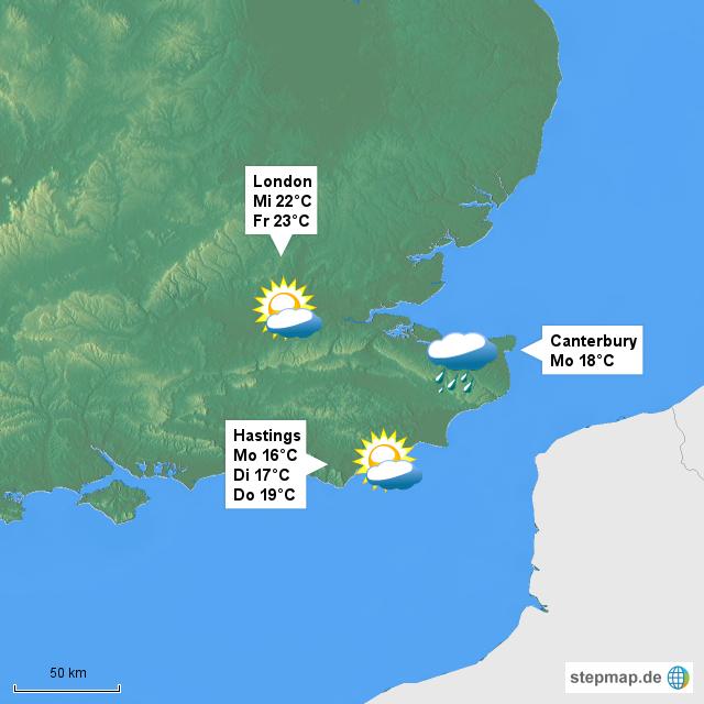 Wetter England