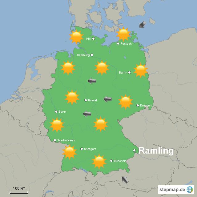 Wetter Morgen Deutschland