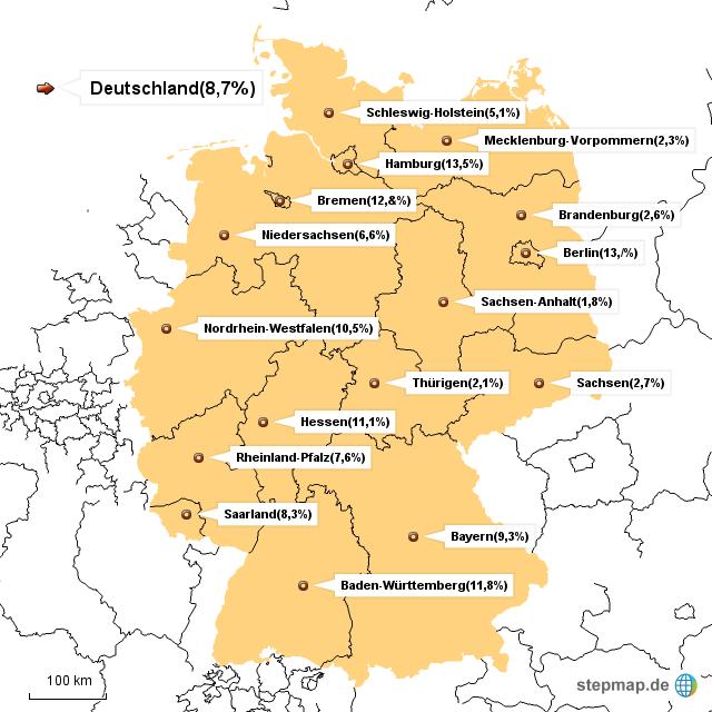 wieviel ausländer leben in deutschland
