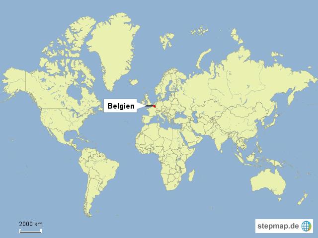 stepmap wo liegt belgien landkarte f r deutschland. Black Bedroom Furniture Sets. Home Design Ideas