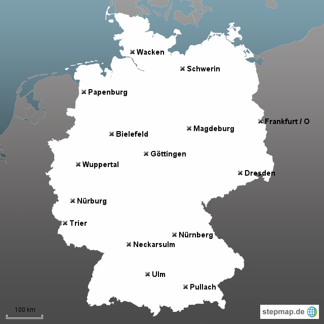 stepmap wo liegt was l sungen landkarte f r deutschland. Black Bedroom Furniture Sets. Home Design Ideas