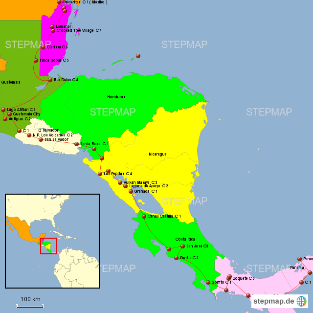 Zentralamerika