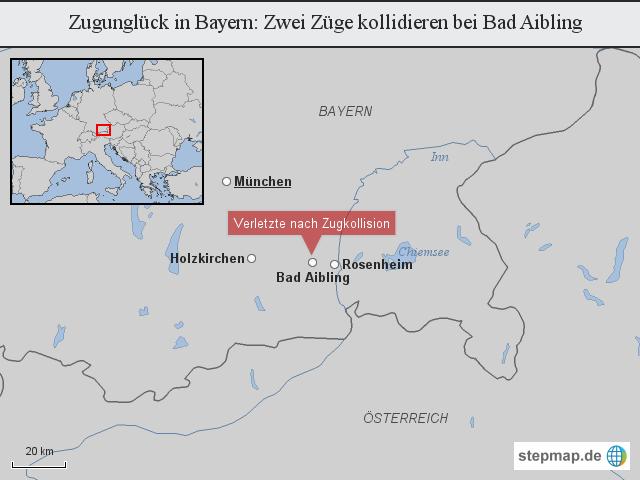 Zugunglueck In Bayern