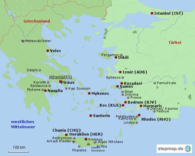 Türkische ägäis Karte.ägäis Von Vanyb29 Landkarte Für Die Türkei