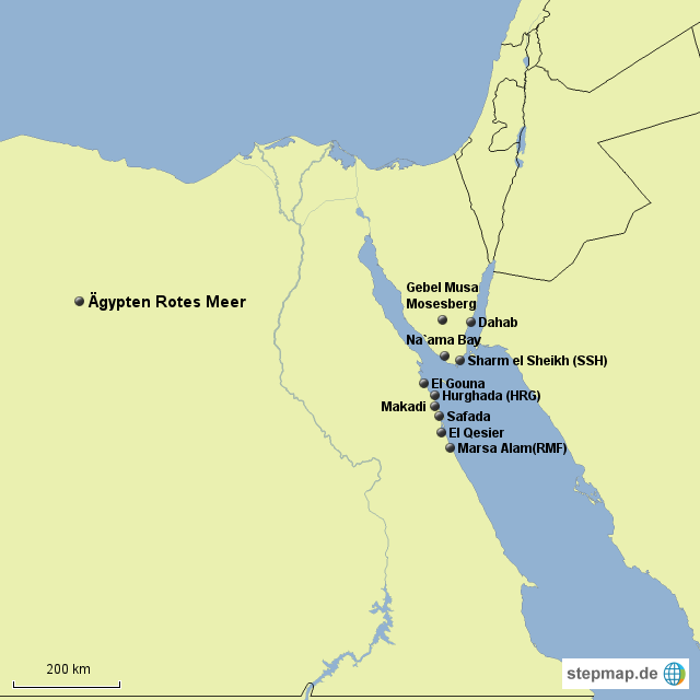 ägypten rotes meer karte ägypten Rotes Meer Karte   goudenelftal ägypten rotes meer karte