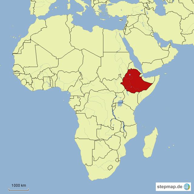 äthiopien karte Äthiopien von alaskafan05   Landkarte für Afrika