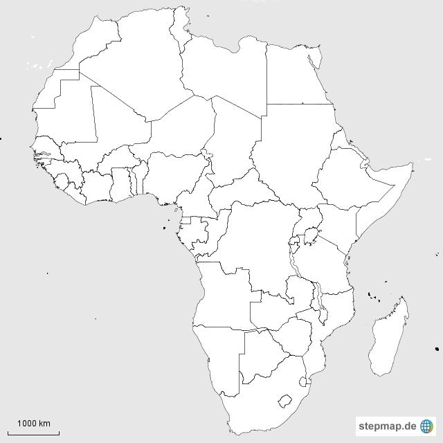 bastelfrau afrika ideen