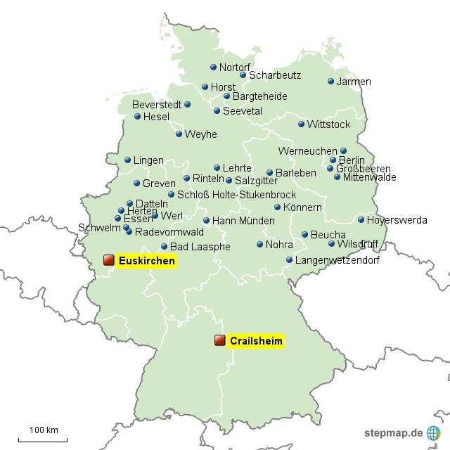 aldi nord de zentrallager von schaeferc9 landkarte f r deutschland. Black Bedroom Furniture Sets. Home Design Ideas