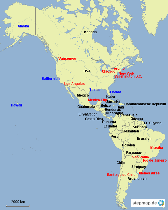 Amerikas Größte Städte
