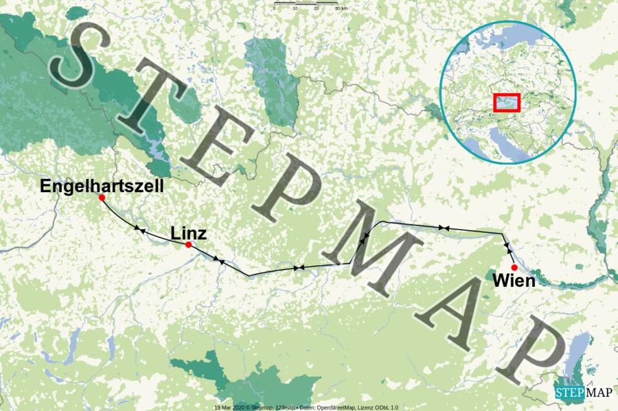 Landkarte: AR-WIEN