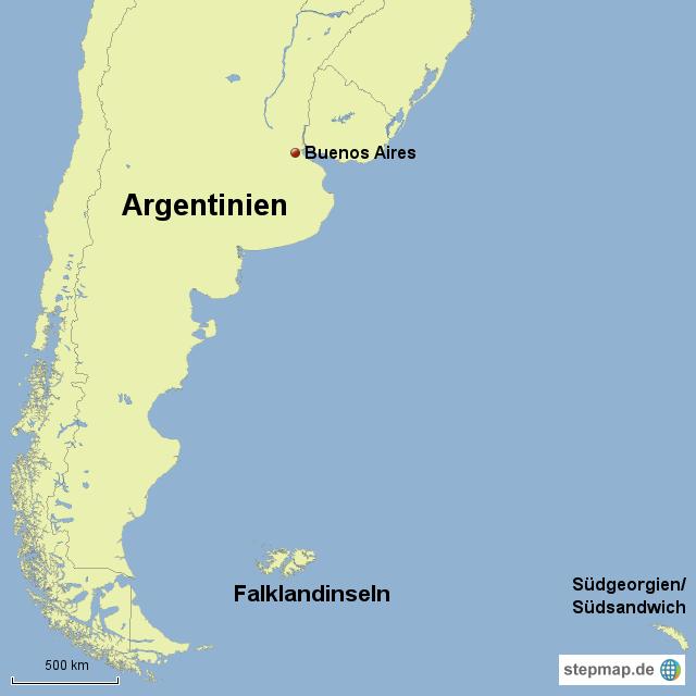 südgeorgien weltkarte Argentinien Falklandinseln Südgeorgien von Dschaeij   Landkarte  südgeorgien weltkarte
