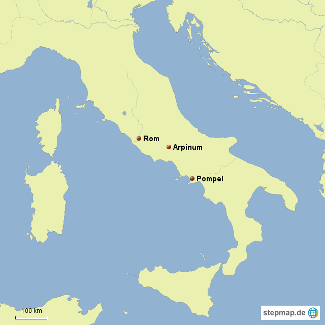 place of Gaius Marius and today Aprinum is known as central Italy ... Italy
